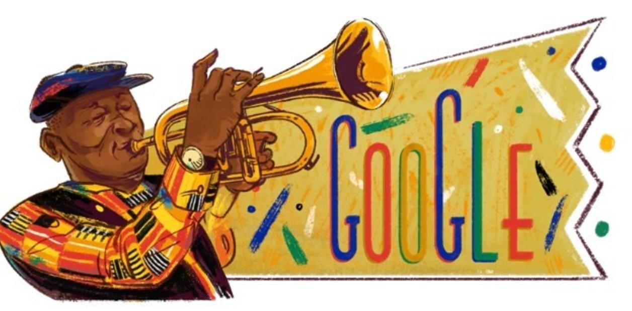 Google Doodle Celebrates African Jazz Icon's 80th Birthday